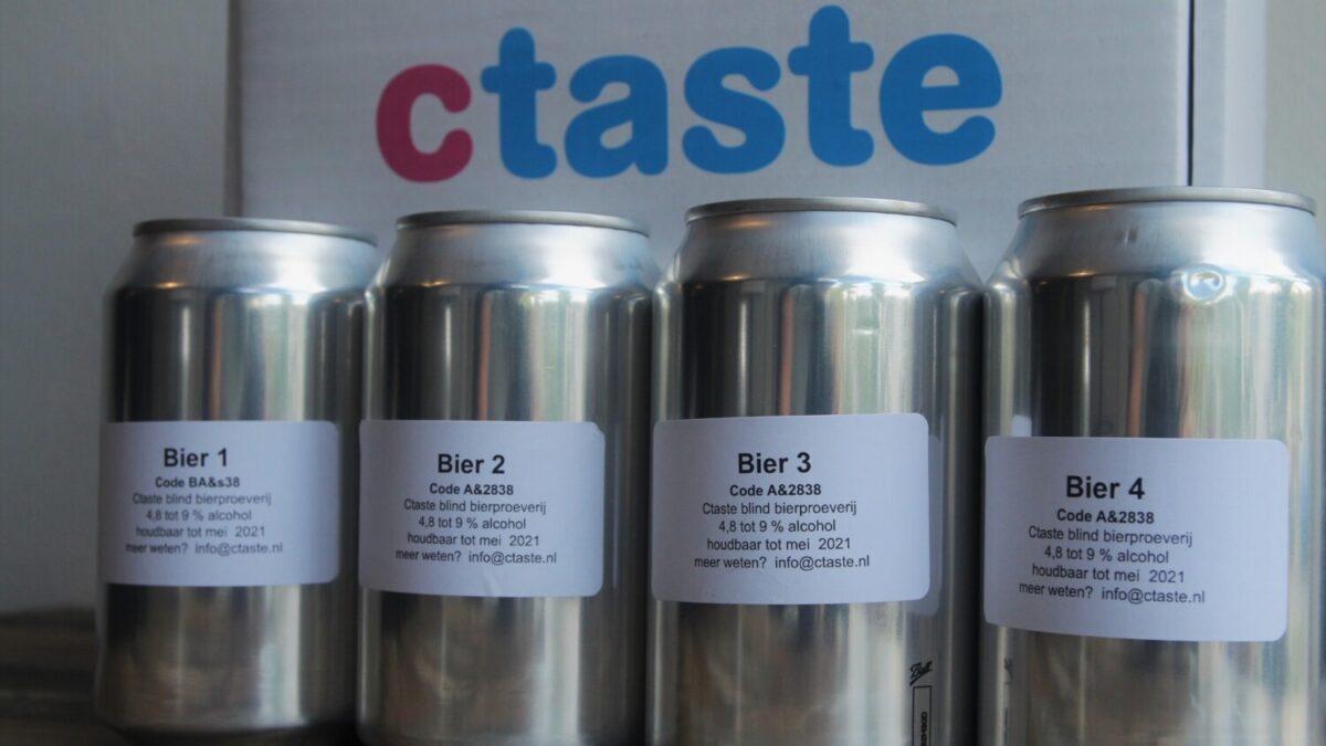 Bierpakket Ctaste blind bier proeven