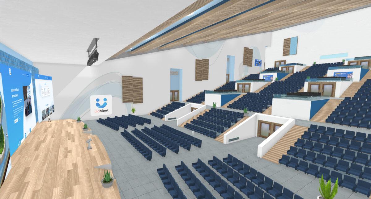GoMeet-grote vergaderzaal
