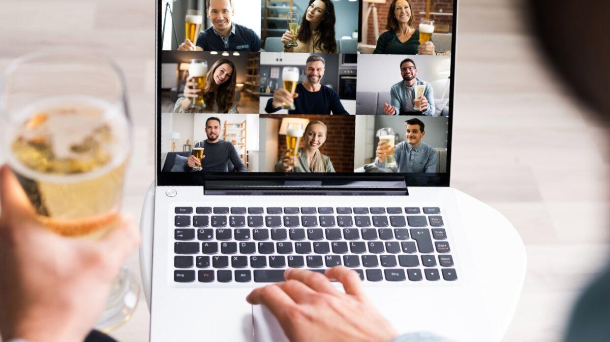 Online Team uitje Bierproeverij Ctaste tijdens online meeting