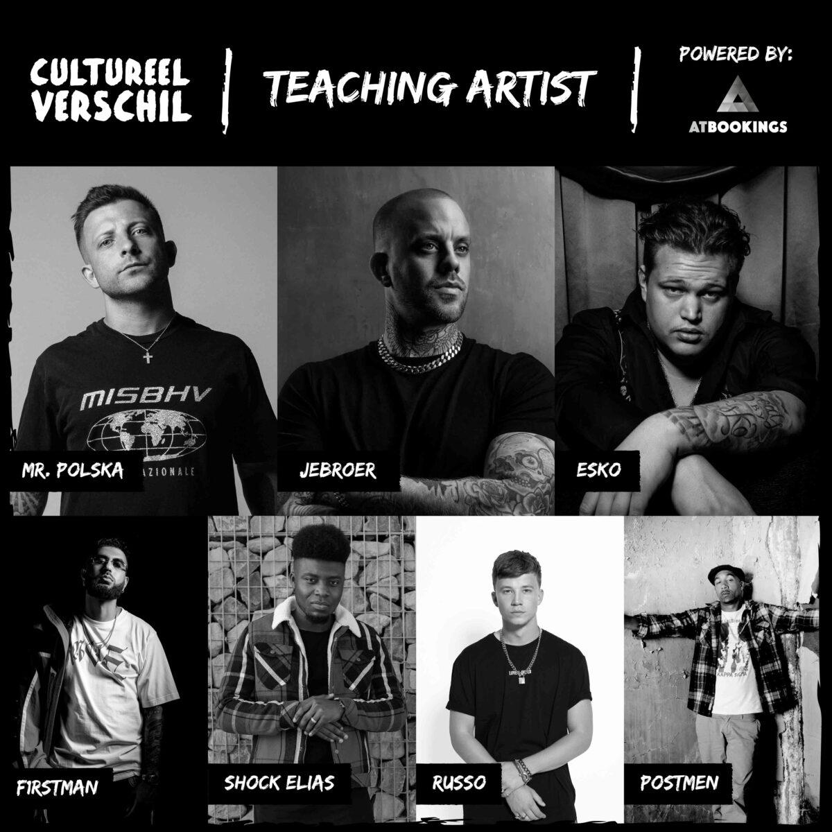 Teaching artist AT Artwork