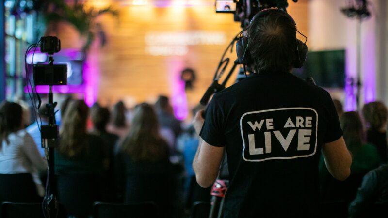 We Are Live camerateam