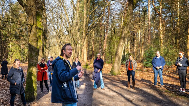 XSAGA Inspiration Walk in het bos