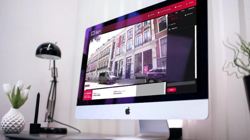 Beeld en Geluid website op een Mac computer (Beeld: Invitado)