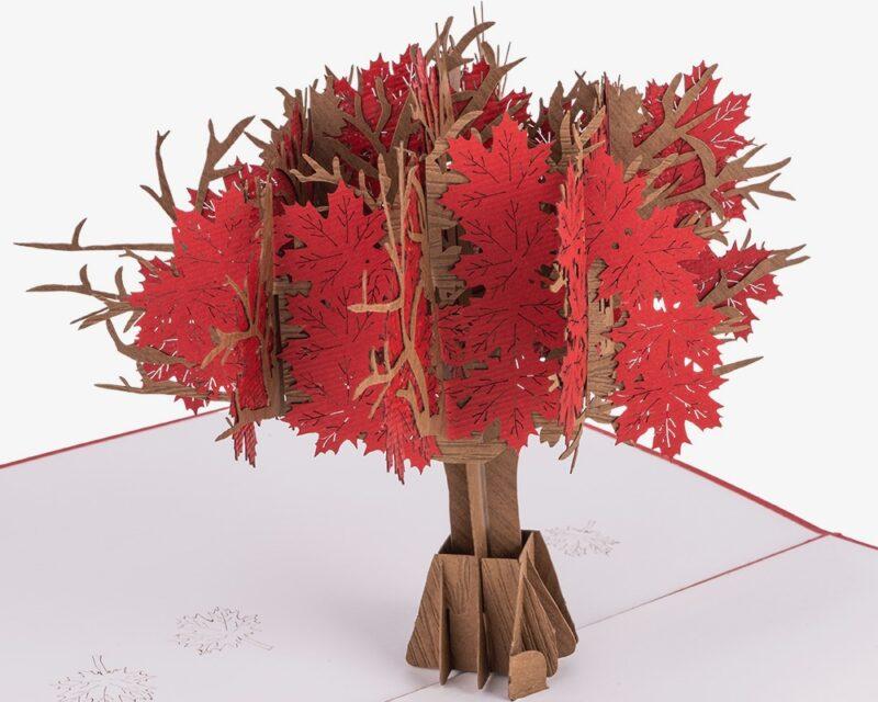 Hartensteler-geknipte boom in kaart