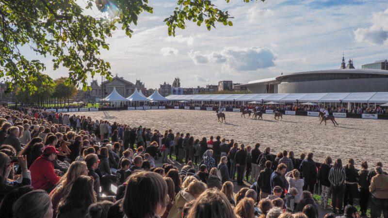Museumplein Polo Amsterdam 2018 Paardenevent met Intertent