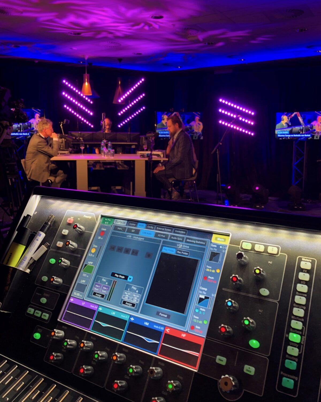 Radioshow tijdens online event van UWV