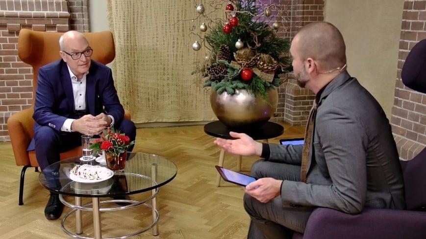 een op een interview