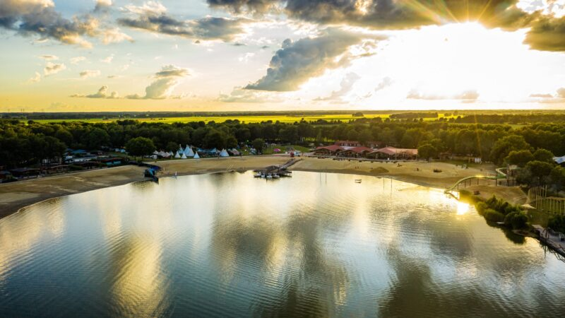 Camping Tijdloos ID&T luchtfoto