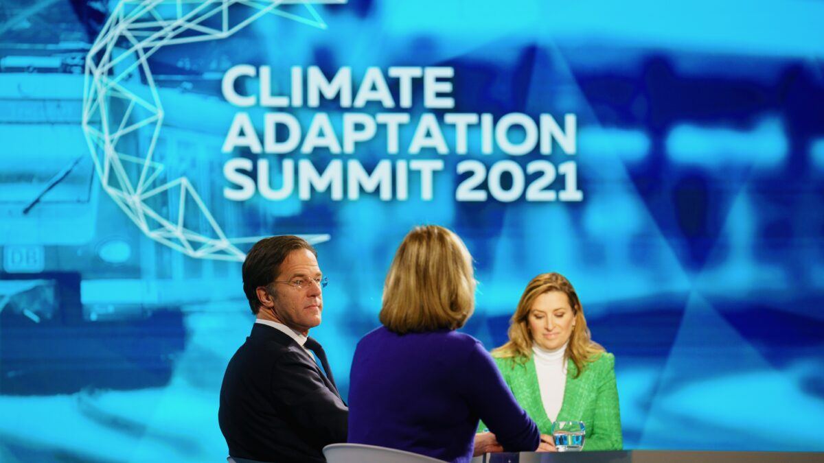 The Hague, January 25th 2021 Climate Adaptation Summit 2021, CAS2021. PHOTO VALERIE KUYPERS / Ministry of Infrastructure and Water Management