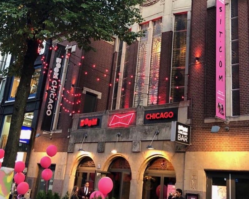 Entree Boom Chicago Rozentheater1