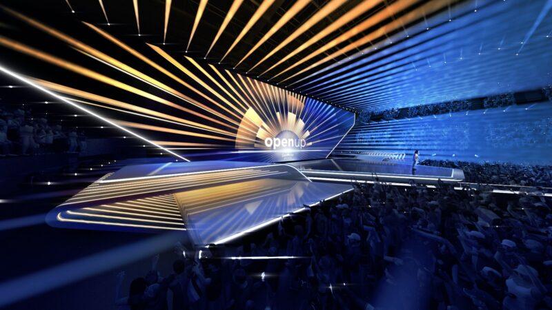 Eurovisie Songfestival podium