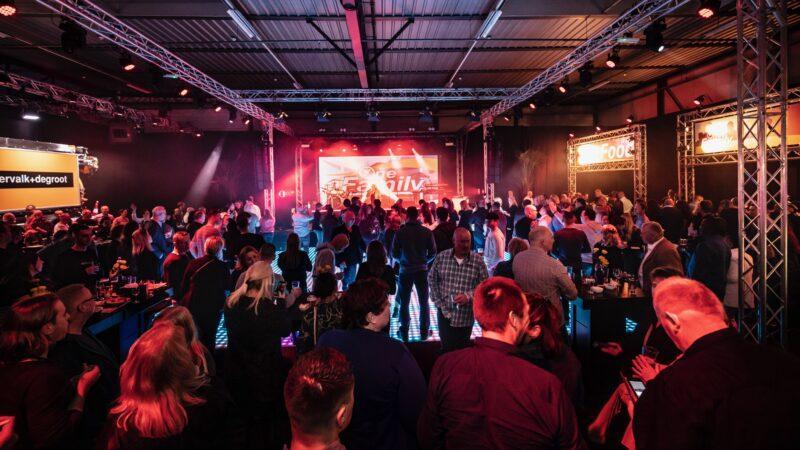 EventZ feestavond tijdens bedrijfsfeest