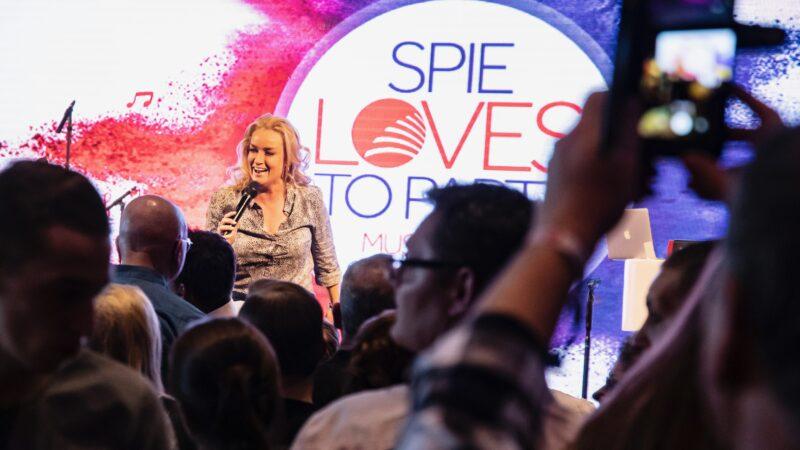 EventZ optreden Samatha Steenwijk op congres van Spie