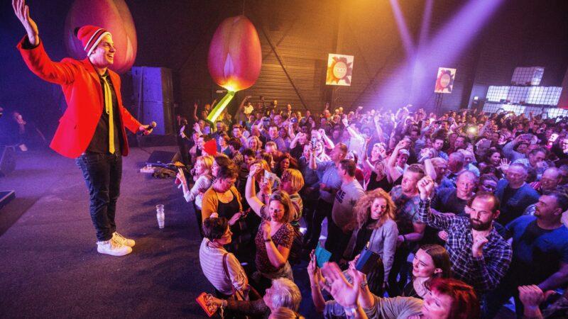 EventZ optreden Snollebollekes tijdens bedrijfsfeest