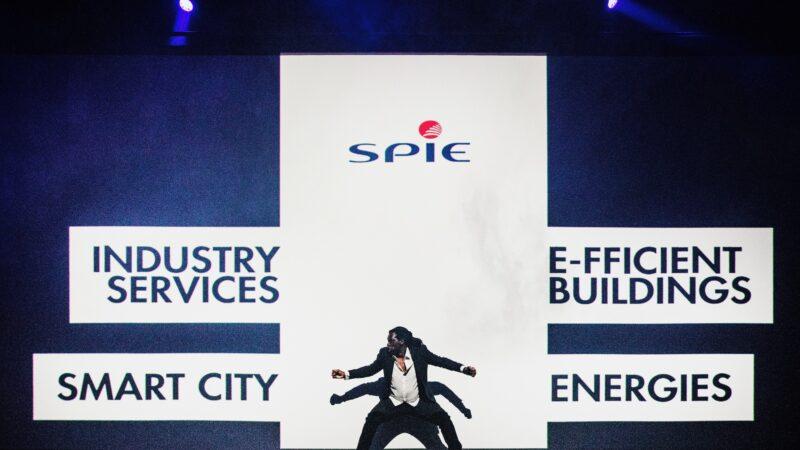 EventZ optreden tijdens congres van Spie