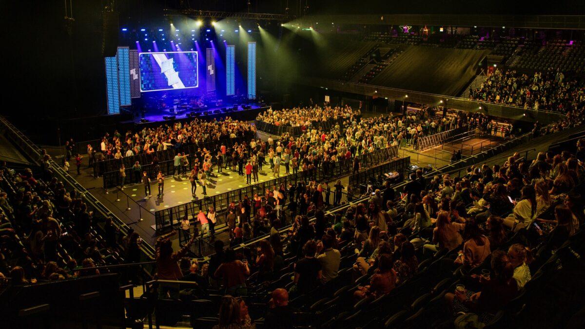 Fieldlab Evenementen Back to Live dance event publieksvakken