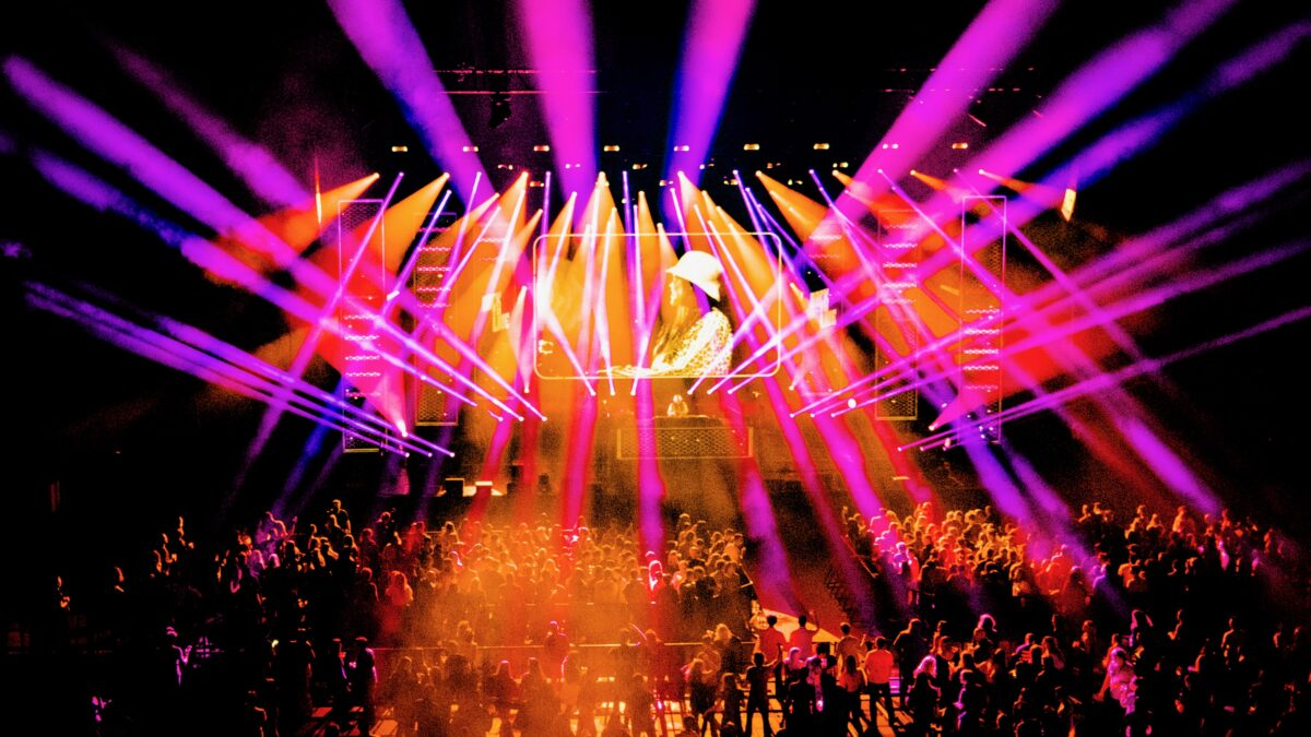 Fieldlab Evenementen Back to Live dance event
