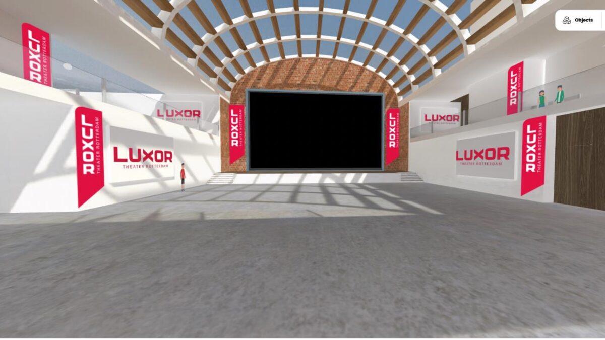 Luxor Theater virtuele ruimte Van der linde en Fantazm