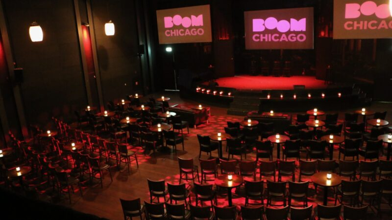 Show bij Boom Chicago 4