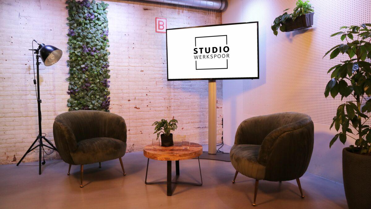 Sprekershuys Studio Werkspoor Setting-huiskamer