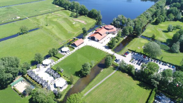 Luchtfoto Buitenplaats Kameryck landgoed Eventlocatie