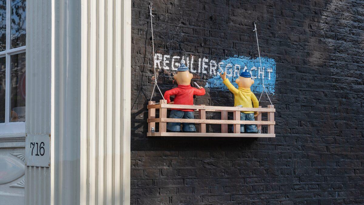 FRANKEY- Buurman en Buurman op de Reguliersgracht