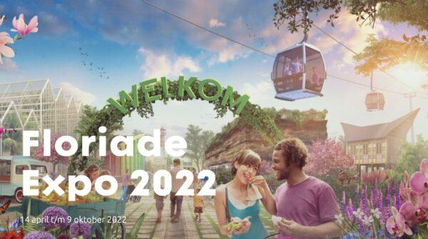 Floriade Expo 2022 met kabelbaan