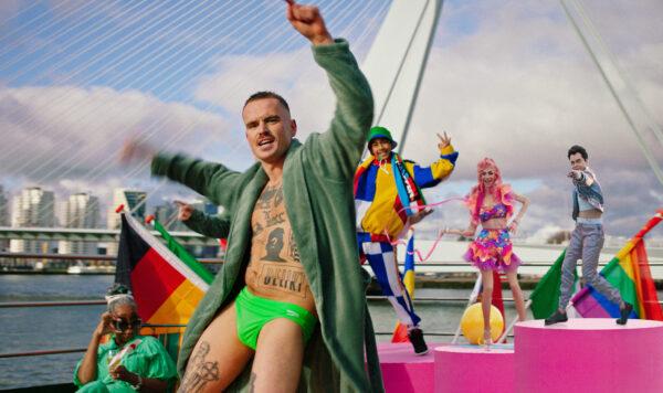 #SWINGALONG Eurovision Songfestival DeLikt_MamaQueen_TheFletchers_WilliamLeeAdams