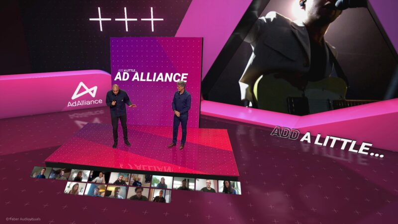 Virtual event Ad Alliance via effectgroep