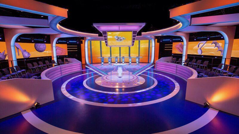 Ik Weet Er Alles Van tv show decor Unbranded