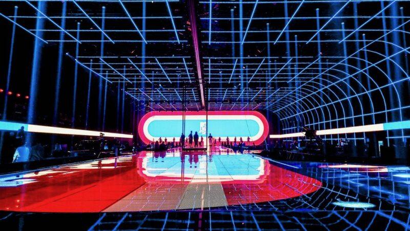 MTV Aawards Seville - decor mer rasterlampen Unbranded