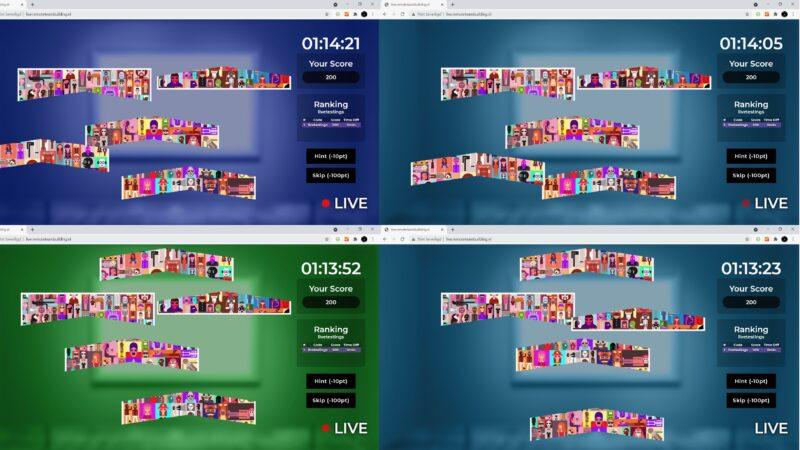The Box Company Remote Teambuilding - screenshots scherm met spel2
