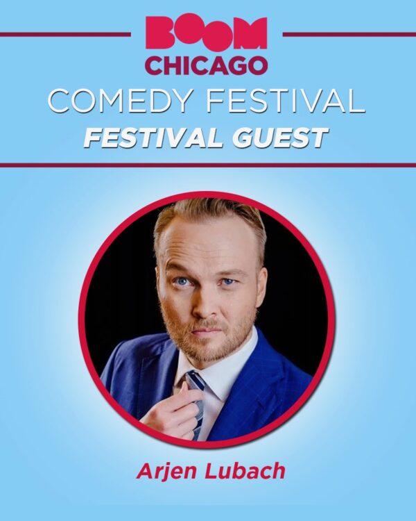 Boom Chicago comedy festival - Arjen Lubach