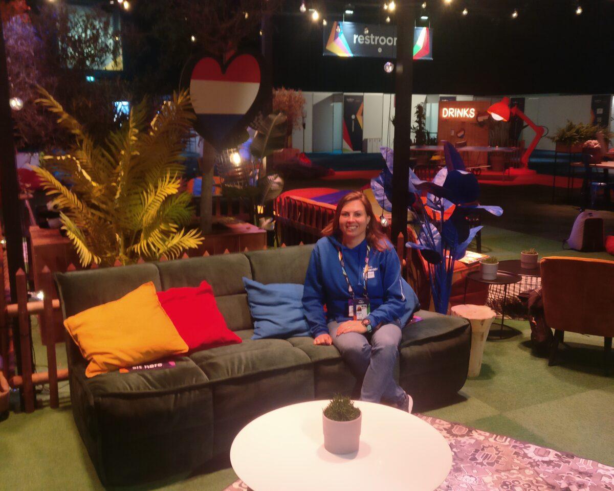 Inge Spier - eventmanager Intersafe - delegation host Eurovision Songfestival