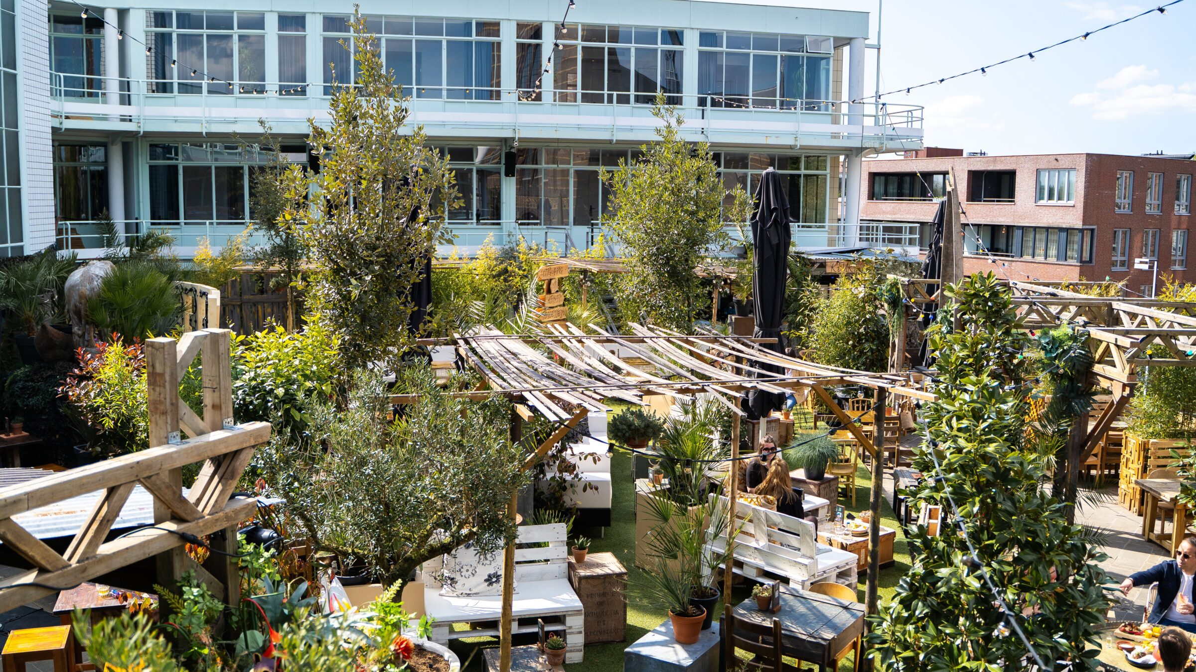 Roeff dakterras Gooiland Urban Jungle