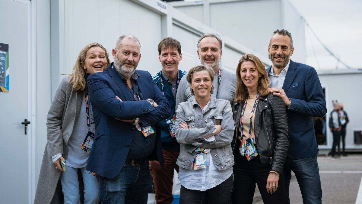 Team van regisseurs Eurovison Songcontest - fotov SANDER MULKENS