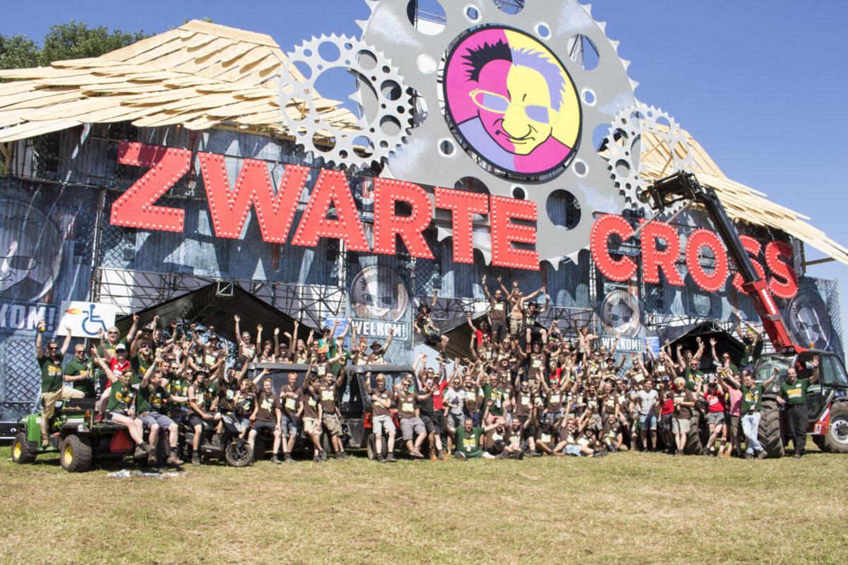 Festivalcrew Zwarte Cross