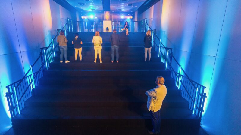 Foto Sander Boer - Kanskamer NXT MICE re-invent trap met mensen