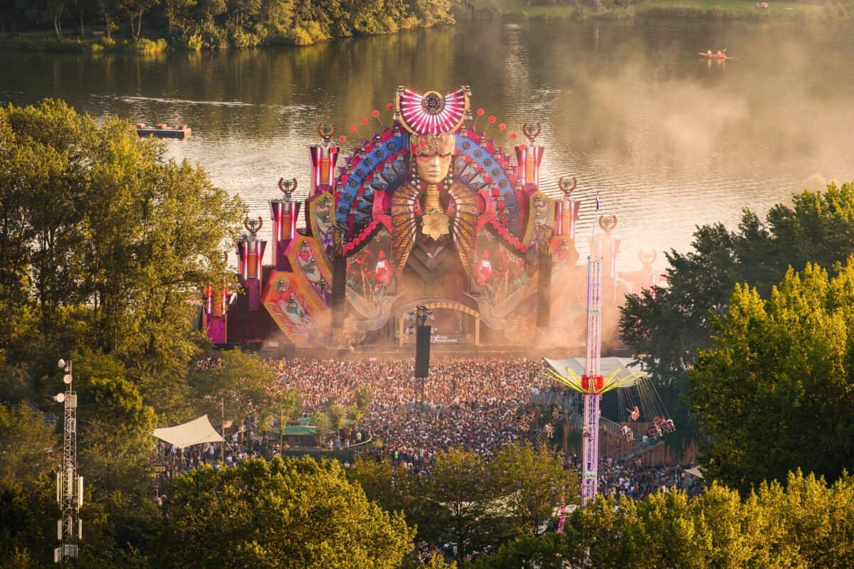 Mysteryland ID&T main stage