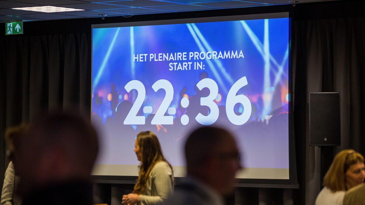 Foto Sander Boer - NXT MICE Re-invent aftelklok tot plenair programma