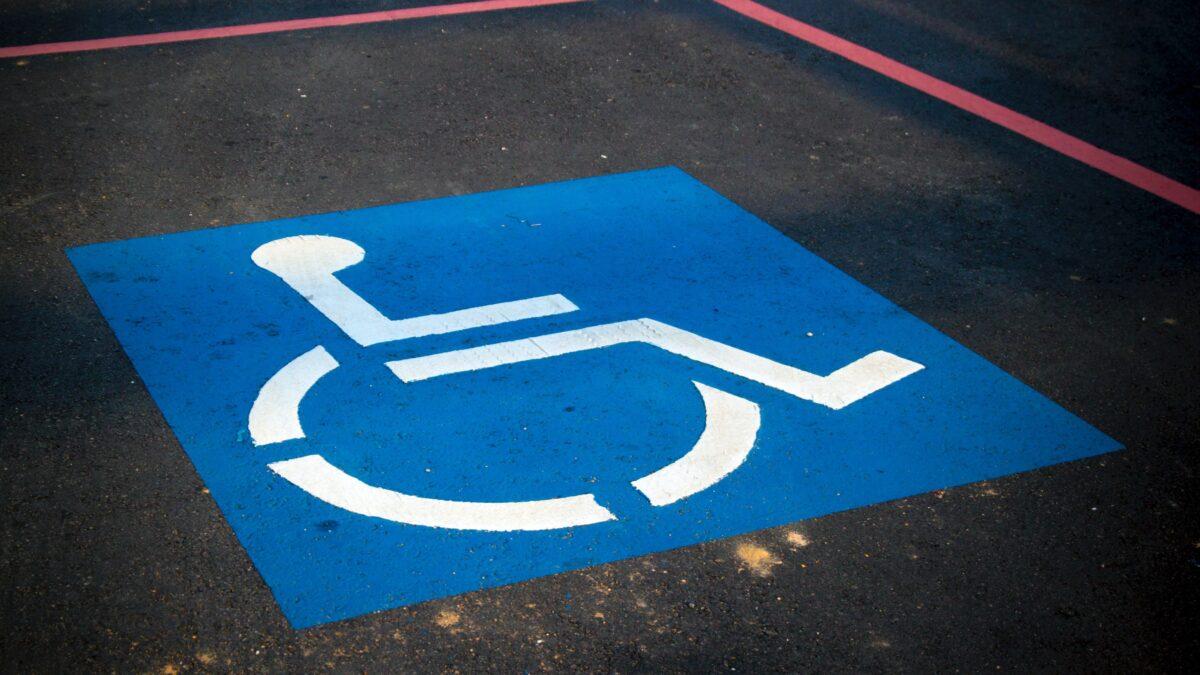 Invalideparkeerplaats sign