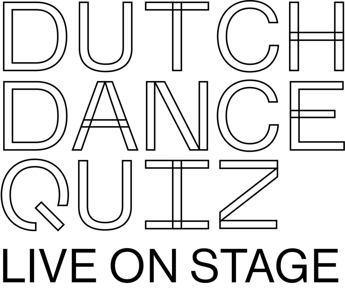 Dutch Dance Quiz live on stage logo