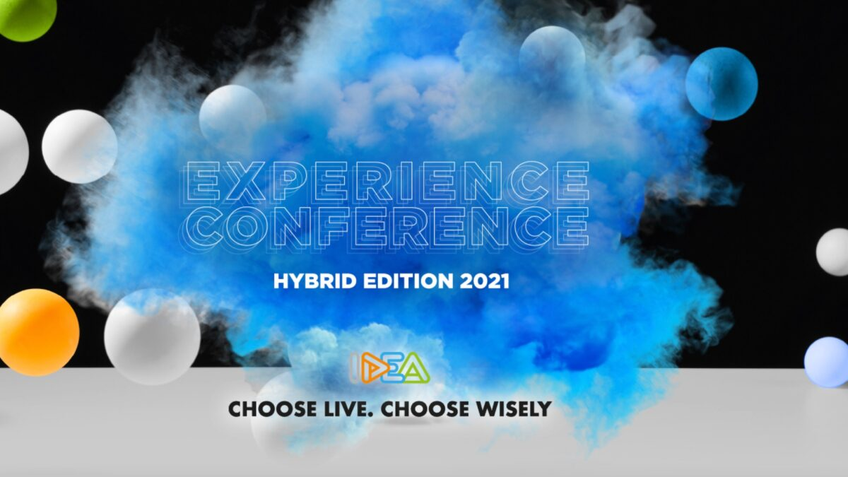 IDEA Experience Conference - banner hybrid edition