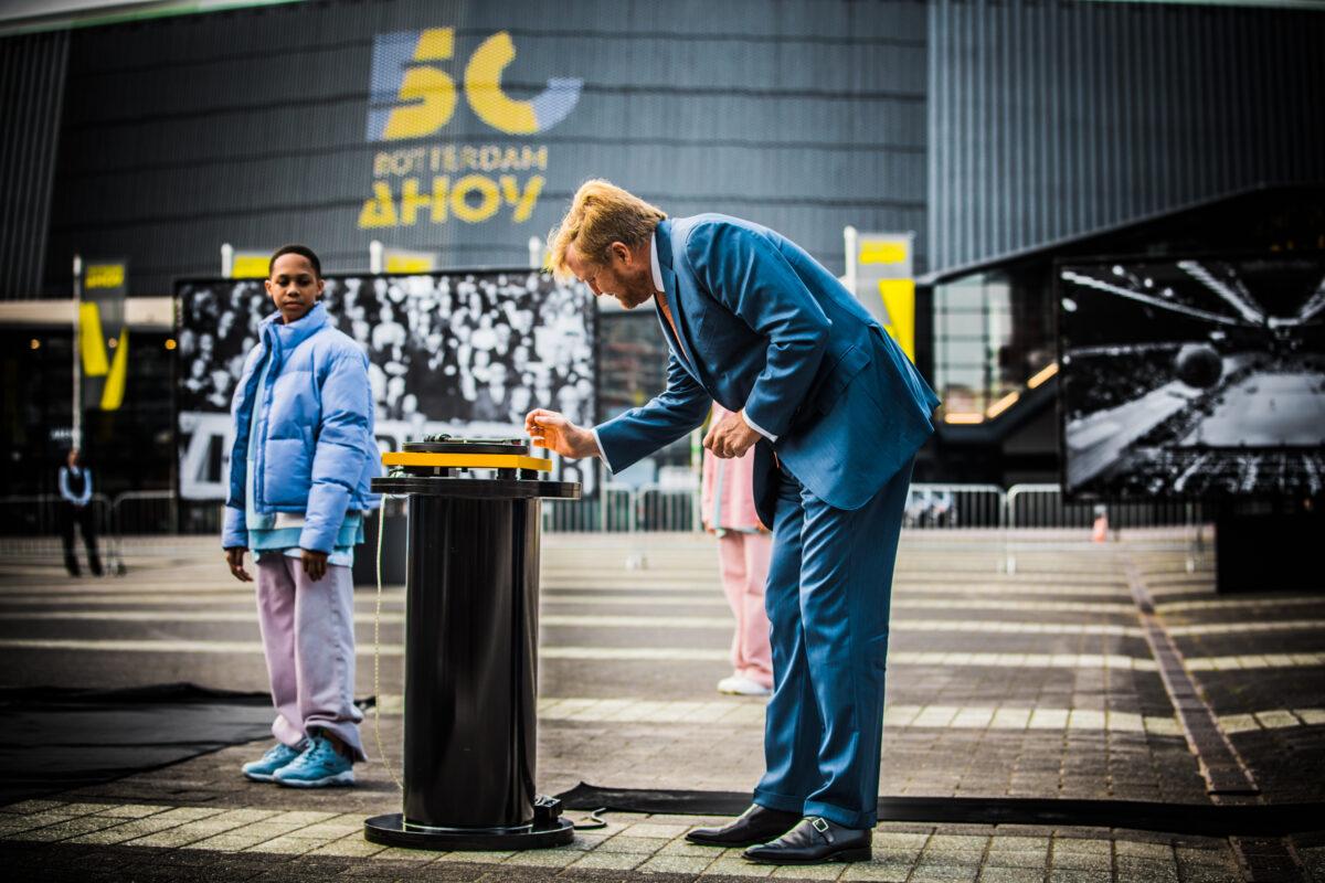 Koning Willem-Alexander opent 50 jaar Ahoy