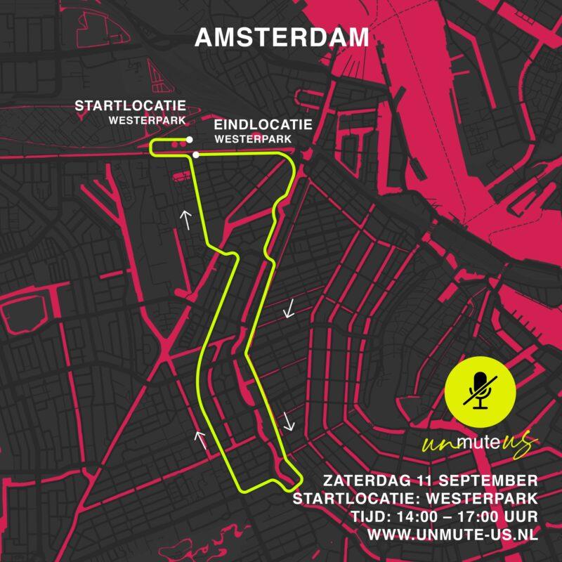 Route 11 sept 2021_UnmuteUs_Amsterdam