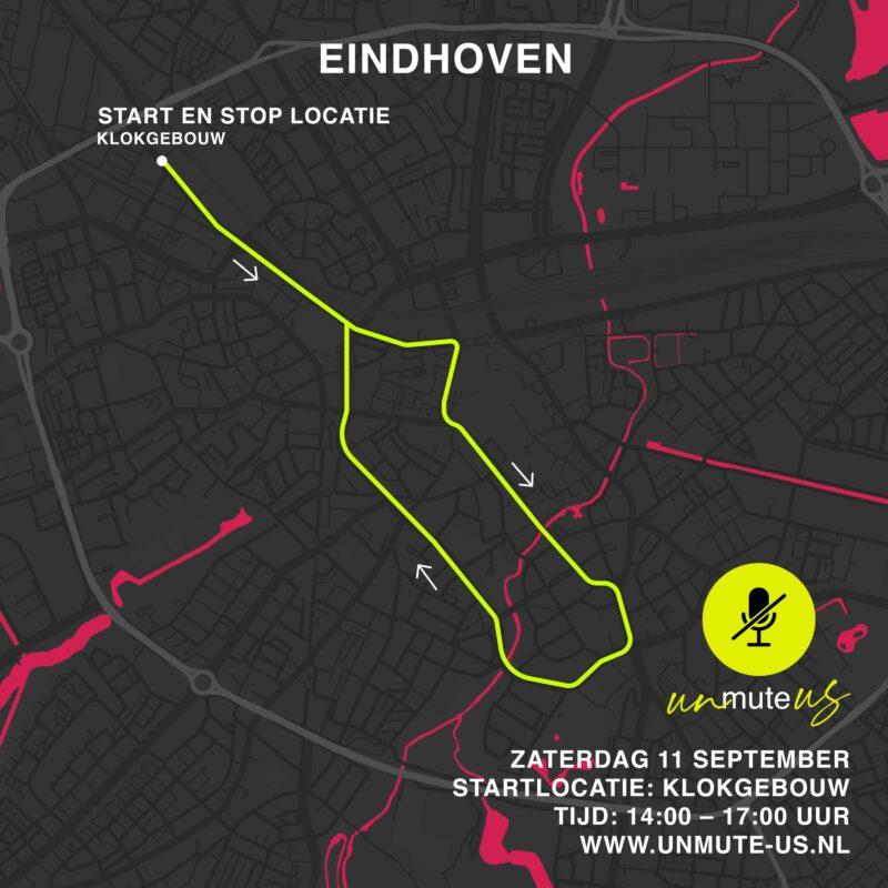 Route 11 sept 2021_UnmuteUs_Eindhoven