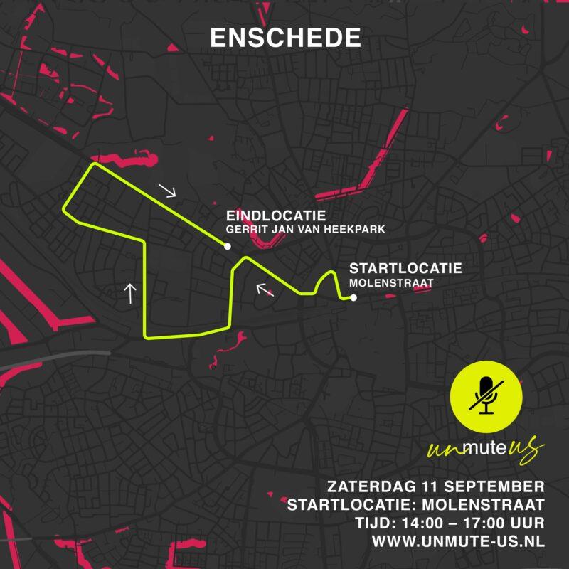 Route 11 sept 2021_UnmuteUs_Enschede