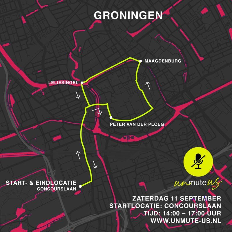 Route 11 sept 2021_UnmuteUs_Groningen