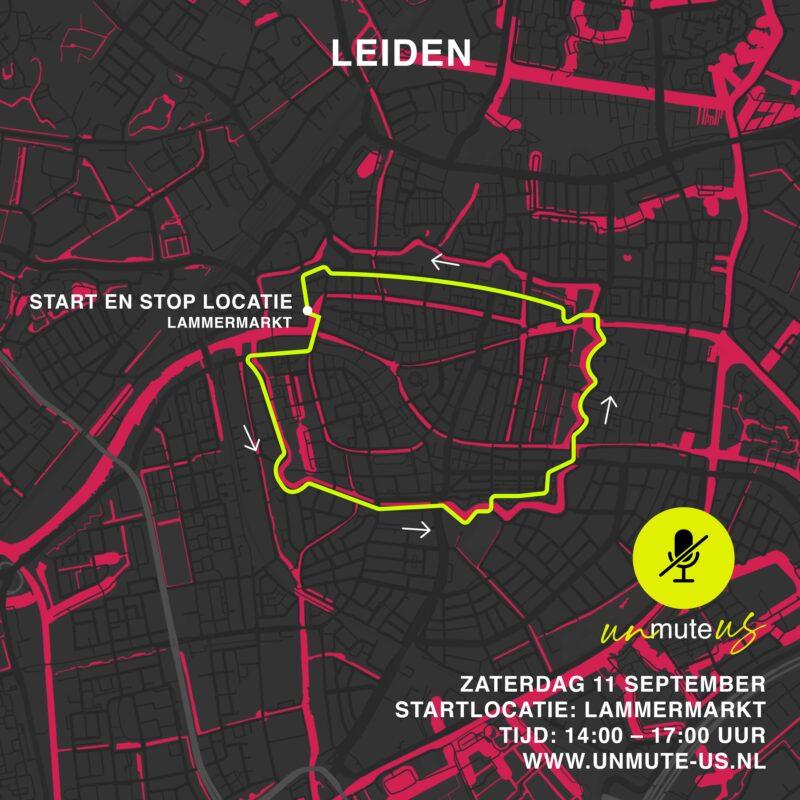 Route 11 sept 2021_UnmuteUs_Leiden