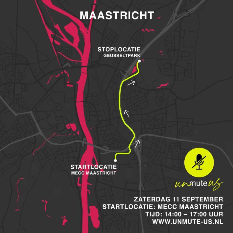 Route 11 sept 2021_UnmuteUs_Maastricht